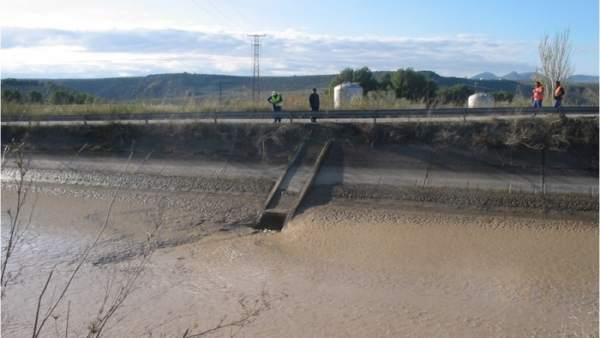 Canal de riego de la Zona Regable del Genil-Cabra