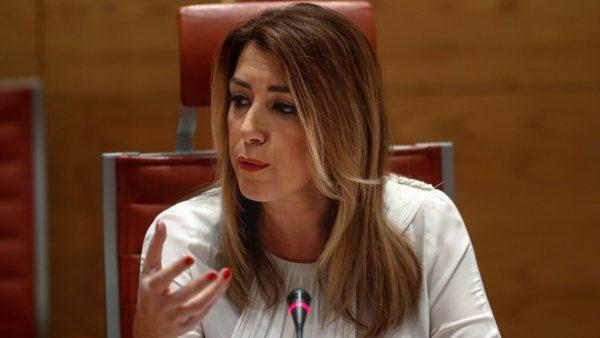 Susana Díaz acusa al PP de citarla como candidata