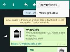 Conversaciones privadas en Whatsapp