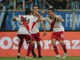River Plate celebra su pase a la final de la Copa Libertadores.
