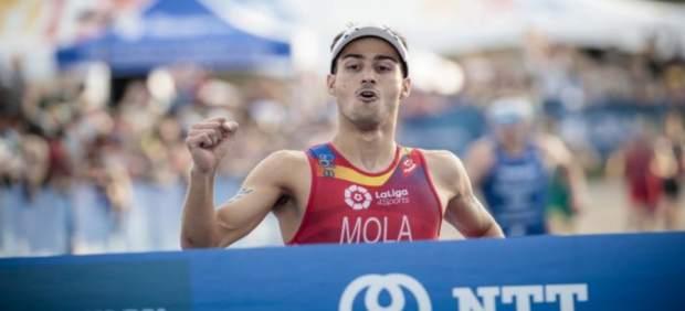 Mario Mola triatlón