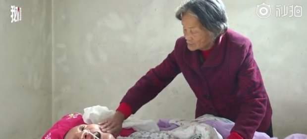 Wang Shubao despierta tras estar 12 años en coma