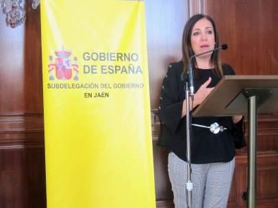 La subdelegada del Gobierno en Jaén, Catalina Madueño, en una imagen de archivo.