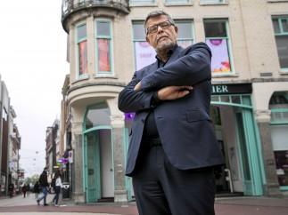 Emile Ratelband posa en Arnhem (Holanda)