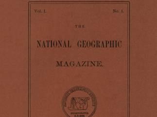 Primera portada de la revista National Geographic (1888)