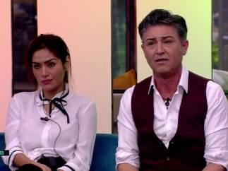 Miriam Saavedra y Ángel Garó, en GH VIP.