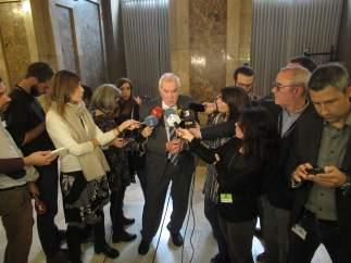 El conseller de Acción Exterior de la Generalitat, Ernest Maragall
