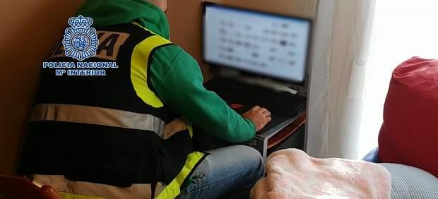 Operación Policía pornografía infantil