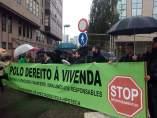 Protesta de la PAH por la sentencia de la tasa hipotecaria