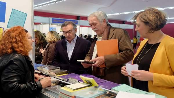 Antonio Pérez Henares ha leído el pregón de la V Feria del Libro.