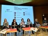 Periodistas en las Jornadas Internacionales Feministas de Zaragoza