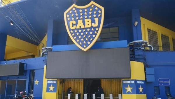 'La Bombonera', estadio de Boca Juniors.