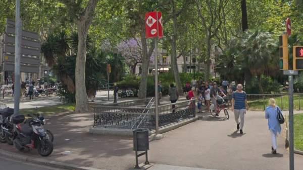 Parada de metro Urquinaona