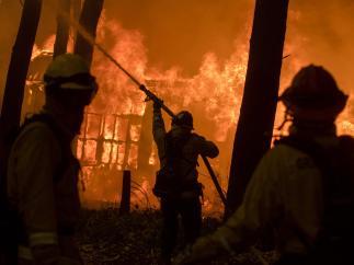 Incendio 'Camp Fire' en California