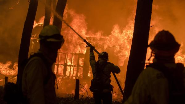 Incendio 'Camp Fire' en California