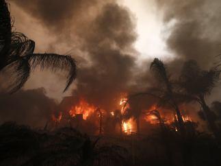 El incendio 'Woolsey Fire'