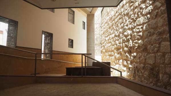 Soria.- Restauración de la Muralla del Postigo de Santa María