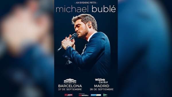 Michael Bublé dará dos conciertos en España