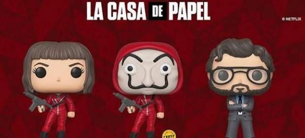 Los personajes de 'La casa de papel' tendrán sus muñecos Funko Pop!