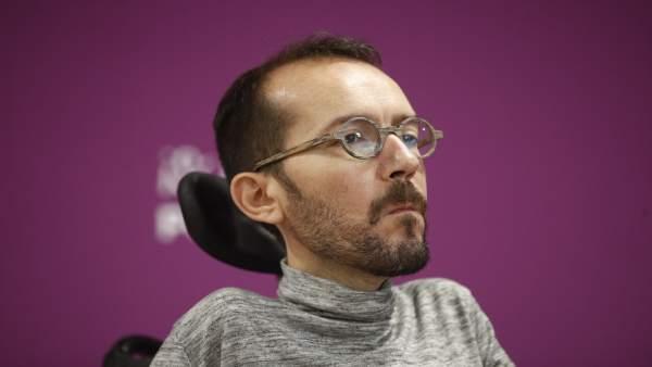 Rueda de prensa tras el Consejo de Coordinación de Podemos