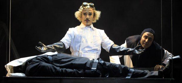 El musical de 'El jovencito Frankenstein' resucita en versión española en la Gran Vía