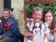 Michael Martin, antes y después de su matrimonio con Susana Menéndez