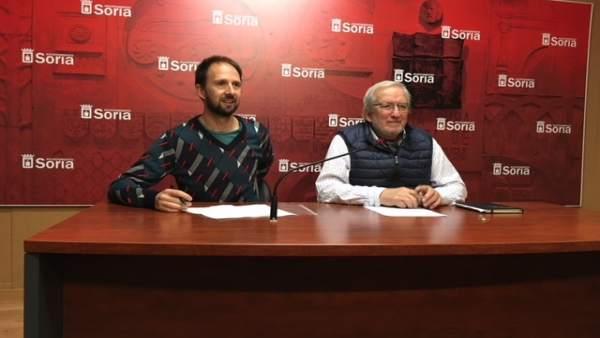 César Gonzalo (izda) y Jesús Bárez (dcha)