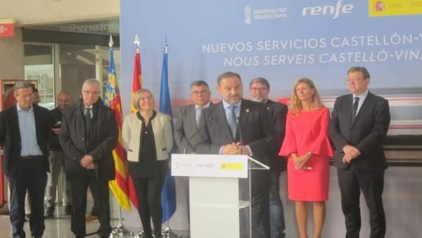 Renfe triplica el seu servei de Castelló a Vinaròs