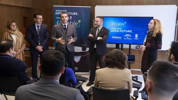 Presentación de nuevas empresas en El Cable