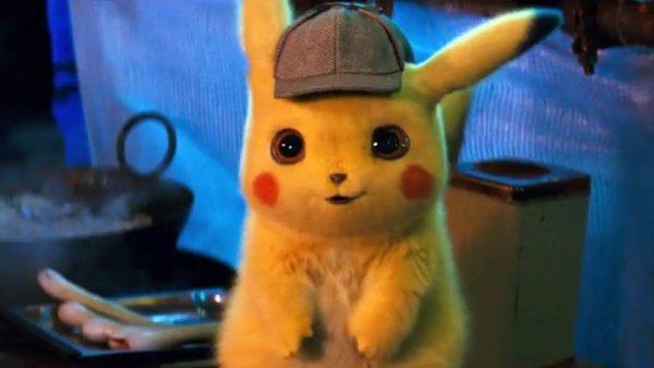 Tráiler de 'Detective Pikachu', un Pokémon entre humanos
