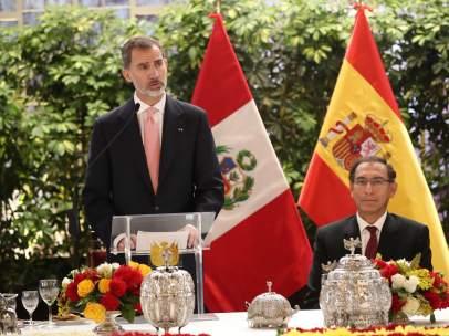 El Rey Felipe VI en Perú