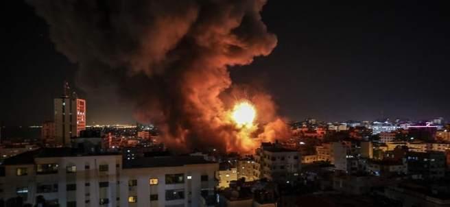 Bombardeo israelí sobre Gaza