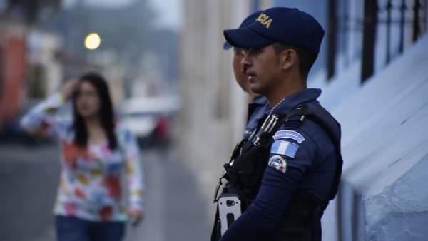 Policía en Guatemala