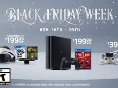 Ofertas de PS4 en el Black Friday