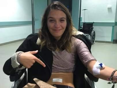 Mariana Rocha, tras la agresión