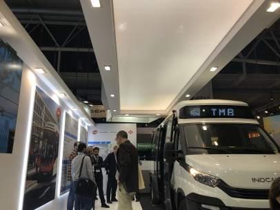 Barcelona presenta un minibús eléctrico con autonomía de 16 horas