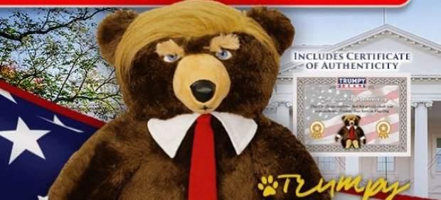 El osito de pelucho con aspecto de Donald Trump