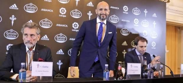 El lapsus de Miguel Cardoso en su presentación con el Celta: llama Deportivo a su nuevo club