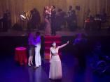 """Málaga (España) 12/11/2018 Ensayo de la obra """"Un muerto con suerte"""" en el Teatro"""