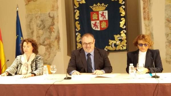 Valladolid.- Entrega de reconocimientos de UNICEF a 8 centros de CyL