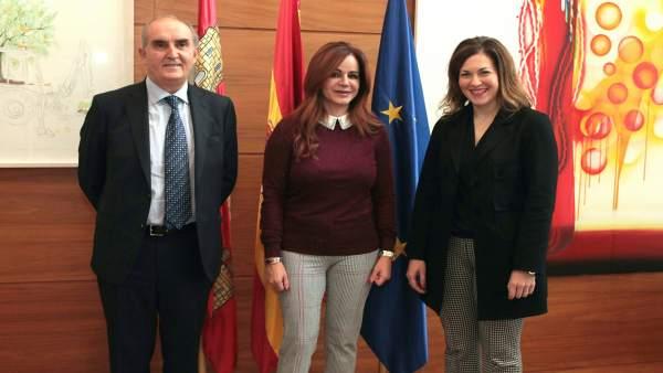 Quintana (I), Clemente (C) ) y Casares (D) 13-11-2018