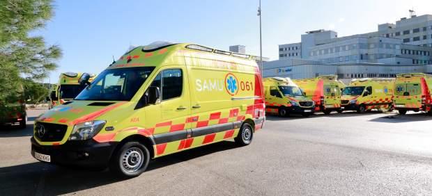Fallece en Mahón un motorista de 62 años tras chocar con una furgoneta que circulaba en sentido ...