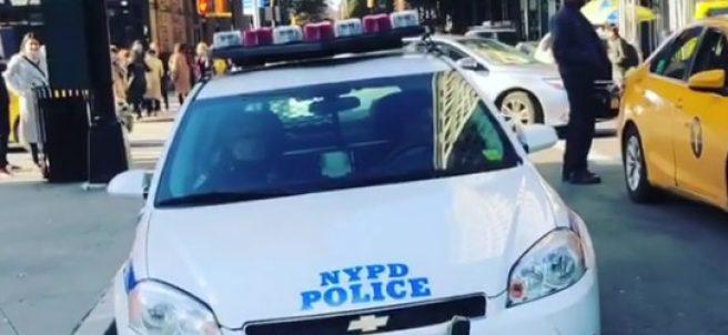 Vídeo de policía cantando