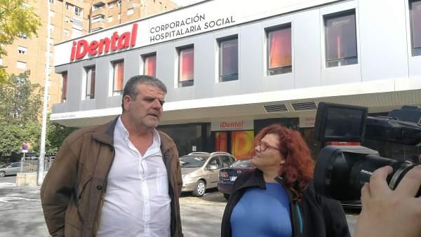 Nacho Molina y Engracia Rivera