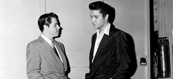 Lucho Gatica y Elvis Presley