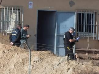 Explosión en una pirotecnia en Guadix