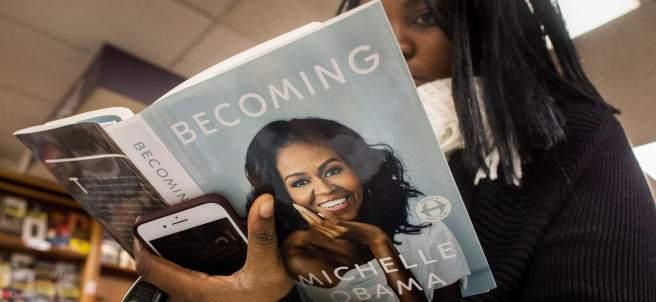 Becoming, la autobiografía de Michelle Obama