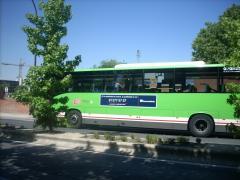 Autobús interurbano en la Comunidad de Madrid