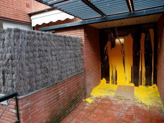 Pintada en la casa de Llarena