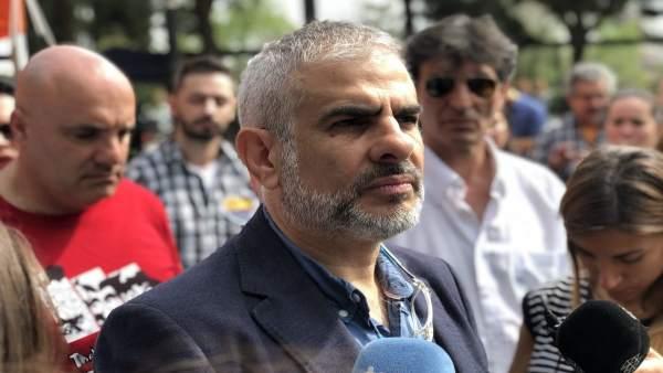 El portavoz de Cs, Carlos Carrizosa